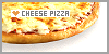 Pizza: Cheese